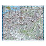 Legamaster Wegenkaart België 1 : 250 000 1.210 x 1.010 mm