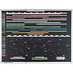 Legamaster Strokenplanner Professional Zwart 170 x 120 cm