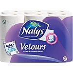 Nalys Toiletpapier Velours maxi sheet 3 laags 12 Rollen à 130 Vellen