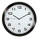 Alba Analoge Wandklok HORISSIMO N 38 x 5,5cm Zwart