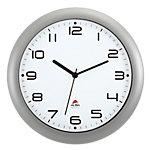Alba Analoge Wandklok HORNEW M 30 x 5,5cm Zilver Grijs