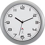 Alba Analoge Wandklok HORNEWRC 30 x 5,5cm Zilver Grijs