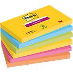 Post it Notes 76 x 127 mm Kleurenassortiment 6 Stuks à 90 Vellen