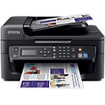 Epson WF 2630WF Kleuren Inkjet All in One Printer