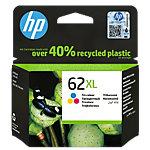 HP 62XL Origineel Inktcartridge C2P07AE 3 Kleuren