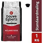 Douwe Egberts Snelfilterkoffie Melange Rood Standaardmaling Kilo pak 1 kg