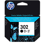 HP 302 Original Inktcartridge F6U66AE Zwart