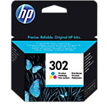 HP 302 Original Inktcartridge F6U65AE 3 Kleuren