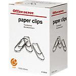 Office Depot Paperclips 30 mm Zilver 1000 Stuks