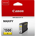 Canon PGI 1500 Original Inktcartridge Geel