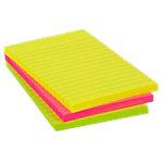 Office Depot Extra Sticky Notes 150 x 101 mm Neon magenta, geel, groen 3 Stuks à 90 Vellen