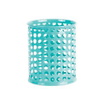 Foray Pennenbakje Turquoise Metaal 8 x 9,5 x 9,5 cm