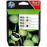 HP 903XL Origineel Inktcartridge 3HZ51AE Zwart, Cyaan, Magenta, Geel 4 Stuks