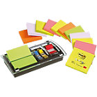 Post it DS100 VP Z Notes Dispenser Zwart Blanco 76 x 76 mm 70 g