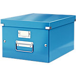 Leitz Opbergdoos Click & Store A4 Blauw gelamineerd karton 28,1 x 37 x 20 cm
