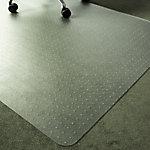 Office Depot Rechthoekige Vloermat Tapijt Polymer 120 x 90cm Transparant