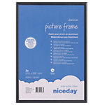Niceday Wissellijst Zwart 29,7 x 21 cm aluminium