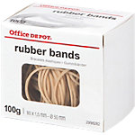 Office Depot Elastiekjes Naturel 80 x 1,5 mm 100 g