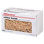 Office Depot Elastiekjes Naturel 150 x 1,5 mm 500 stuks