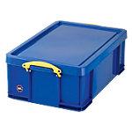Really Useful Boxes Transportbakken Polypropyleen 44 x 71 x 23 cm Blauw