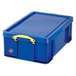 Really Useful Boxes Transportbakken Polypropyleen 48 x 39 x 20 cm Blauw