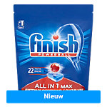 Finish Vaatwastabletten All in One Max 22 Stuks