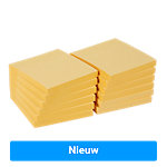 Office Depot Extra Sticky Notes 76 x 76 mm Geel 12 Stuks à 90 Vellen