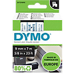 DYMO D1 Labeltape 40914 Blauw op Wit 9 mm x 7 m