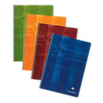 Clairefontaine 8145 Spiraalschrift Kleurenassortiment Gelinieerd A4 210 x 297 mm 90 g