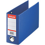 Esselte Bank giro ordner 80 mm Karton, polypropyleen 2 ringen A5 Blauw