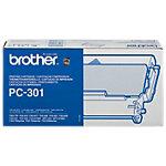 Brother PC301 Inkt Cartridge + Donorrol Zwart
