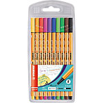 STABILO Point 88 Fineliner Assorti 10 Stuks