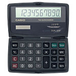 Casio Zakrekenmachine SL 210TE Zwart
