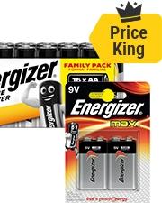 Vanaf €4,99 Energizer Batterijen
