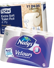 Vanaf €2,49 Toiletpapier