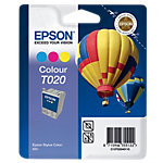 Epson T020 Original Inktcartridge C13T02040110 Cyaan, Magenta, Geel