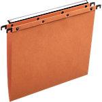 Dossiers suspendus verticaux ELBA AZO Ultimate® A4 Orange Carton 25 Unités