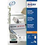 Cartes de visite AVERY Zweckform C32253 25 Blanc Mat 185 g
