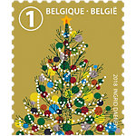 Timbres postaux autocollants bpost End Of Year 10 unités