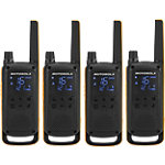 Talkie walkie Motorola Talkabout T82 EXTREME Noir 4 Unités