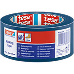 Ruban de marquage au sol Tesa PVC 50 mm x 33 m Bleu