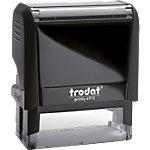 Tampon de bureau personnalisable Trodat Printy 4913 6 Lignes 58 x 22 mm Noir