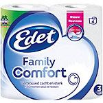Rouleau de papier toilette Edet Family Comfort 3 épaisseurs 4 Rouleaux