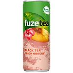 Thé noir fuzetea Pêche hibiscus 24 Unités de 250 ml