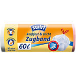 Sacs poubelle Swirl 60 l Blanc 68 x 73 cm 10 Unités