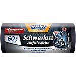 Sacs poubelle Swirl 60 l Noir 68 x 60 x 68 cm 12 Unités