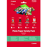 Pack assortiment   papier photo A4 et 10 x 15 cm Canon VP 101 170 g