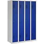 Vestiaire NH 180 4.4 Gris, bleu Serrure cylindre