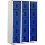 Casier NHT 180 3.15 Gris, bleu Système de sécurité antichute
