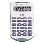 Calculatrice De Poche Texas Instruments TI 501 55 mm Bleu, Blanc